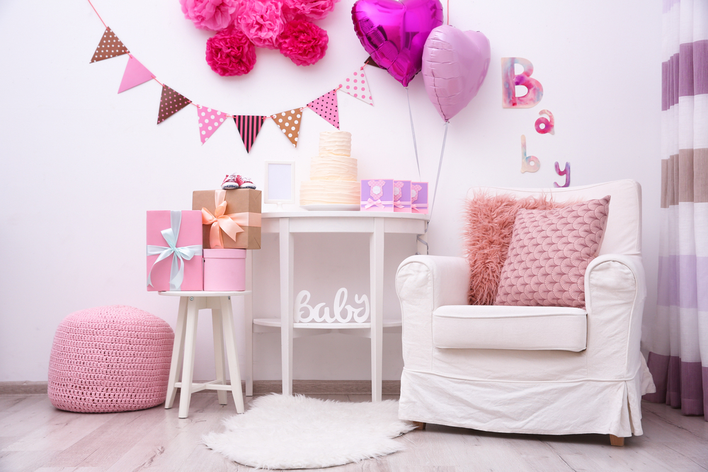 baby girl shower decoration ideas